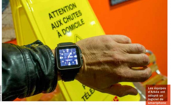 La montre connectée par Arkea Assistance